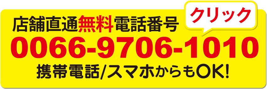 お問い合わせは TEL:0066-9706-101027